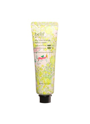 Main View - Click To Enlarge - BELIF - My Lime Orange Hand Cream