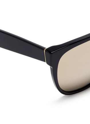 Detail View - Click To Enlarge - SUPER - 'Classic' flat top acetate sunglasses