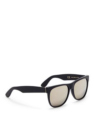 Figure View - Click To Enlarge - SUPER - 'Classic' flat top acetate sunglasses