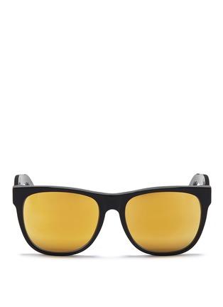 Main View - Click To Enlarge - SUPER - 'Classic' flat top acetate sunglasses