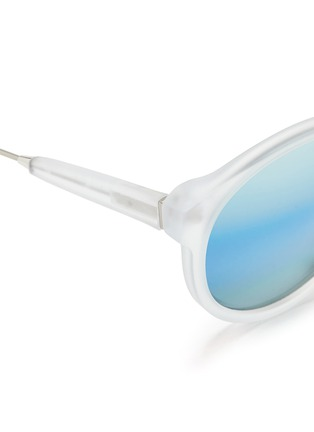 Detail View - Click To Enlarge - SUPER - 'Panamá' mirror sunglasses
