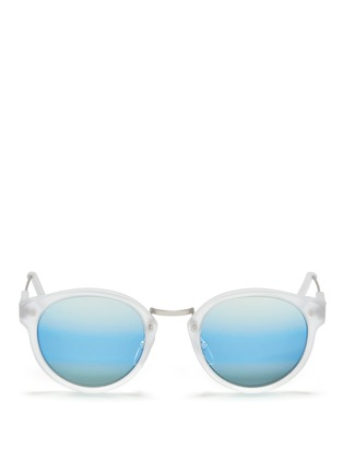 Main View - Click To Enlarge - SUPER - 'Panamá' mirror sunglasses