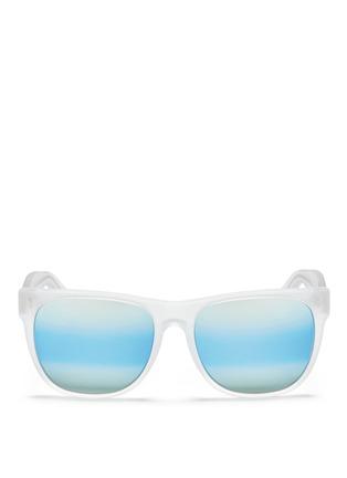 Main View - Click To Enlarge - SUPER - 'Classic' mirror sunglasses