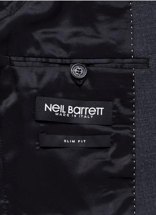 - Neil Barrett - Slim fit bistretch gabardine suit