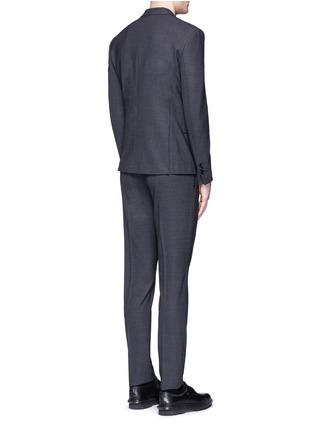 Back View - Click To Enlarge - Neil Barrett - Slim fit bistretch gabardine suit