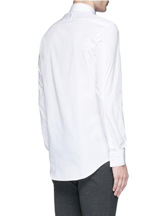 Back View - Click To Enlarge - Neil Barrett - Thunderbolt pin tuxedo shirt