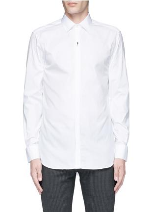 Main View - Click To Enlarge - Neil Barrett - Thunderbolt pin tuxedo shirt