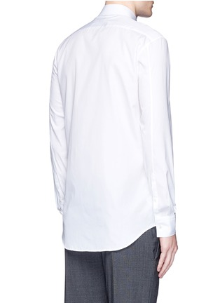 Back View - Click To Enlarge - Neil Barrett - Ring collar bib front tuxedo shirt