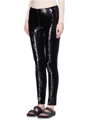Front View - Click To Enlarge - Isabel Marant - 'Izard' sequin leggings