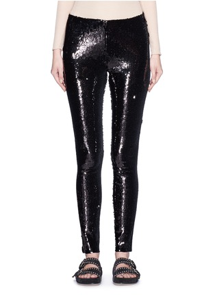 Main View - Click To Enlarge - Isabel Marant - 'Izard' sequin leggings