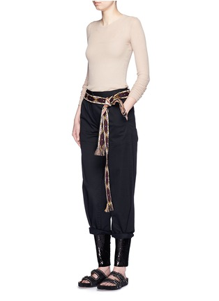 Figure View - Click To Enlarge - Isabel Marant - 'Izard' sequin leggings