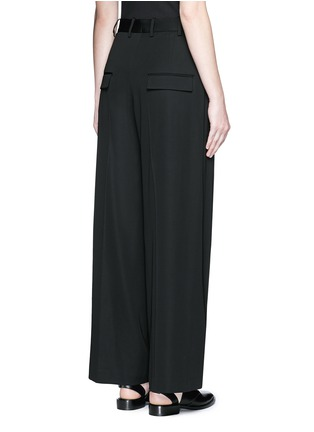 Back View - Click To Enlarge - Neil Barrett - Pleat front slouch fit pants