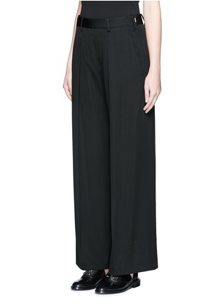 Front View - Click To Enlarge - Neil Barrett - Pleat front slouch fit pants