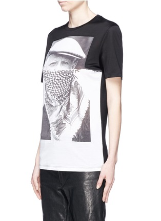 Front View - Click To Enlarge - Neil Barrett - Picasso keffiyeh print T-shirt