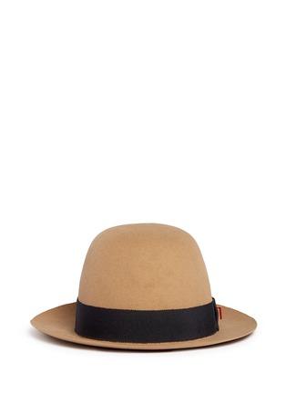 Main View - Click To Enlarge - My Bob - 'Traveller Summer' rabbit furfelt hat