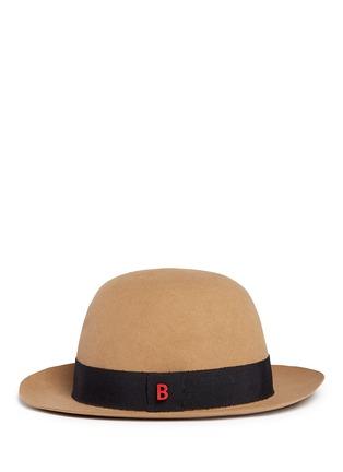 Figure View - Click To Enlarge - My Bob - 'Traveller Summer' rabbit furfelt hat