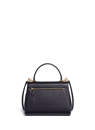 Back View - Click To Enlarge - Mark Cross - 'Hadley' small leather flap bag