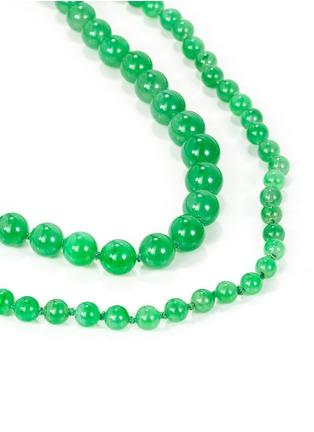 Figure View - Click To Enlarge - SAMUEL KUNG - Jadeite bead necklace