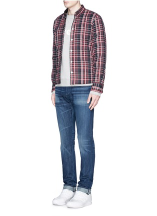 Front View - Click To Enlarge - 3x1 - 'M3' slim fit jeans