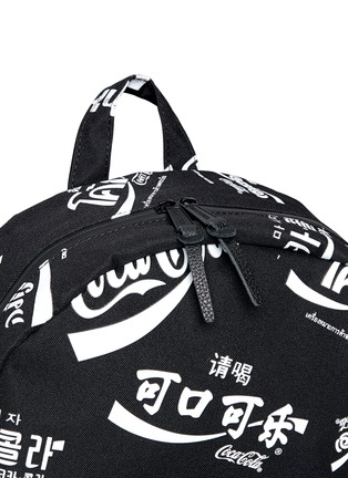 Detail View - Click To Enlarge - The Herschel Supply Co. Brand - 'Lawson' Coca-Cola® print backpack