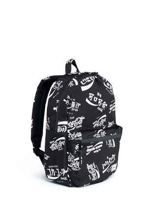 Figure View - Click To Enlarge - The Herschel Supply Co. Brand - 'Lawson' Coca-Cola® print backpack