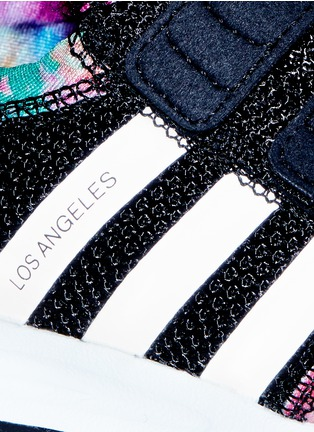 Detail View - Click To Enlarge - Adidas - 'Los Angeles CF' camouflage print mesh toddler sneakers