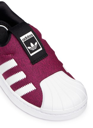 Detail View - Click To Enlarge - Adidas - 'Super Star 360' slip-on sneakers