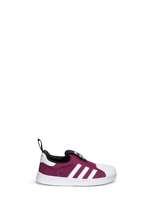 Main View - Click To Enlarge - ADIDAS - 'Super Star 360' slip-on sneakers