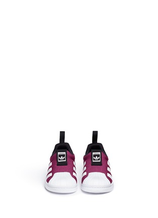 Figure View - Click To Enlarge - ADIDAS - 'Super Star 360' slip-on sneakers