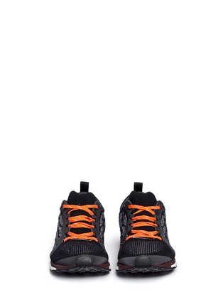 Front View - Click To Enlarge - Adidas By Stella Mccartney - 'Adizero Adios' snake jacquard Primeknit sneakers