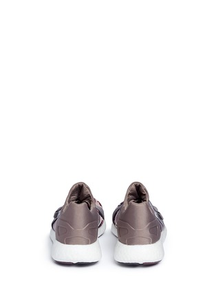 Back View - Click To Enlarge - Adidas By Stella Mccartney - 'Pureboost' mesh window floral knit running sneakers