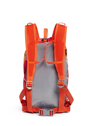 Back View - Click To Enlarge - Adidas By Stella Mccartney - 'BP-Shopper PR' floral print backpack