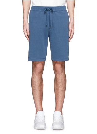 Main View - Click To Enlarge - DENHAM - 'Roy' cotton sweat shorts