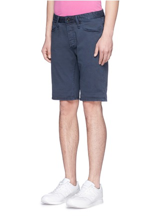 Front View - Click To Enlarge - Denham - 'Razor' cotton chino shorts