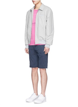 Figure View - Click To Enlarge - Denham - 'Razor' cotton chino shorts