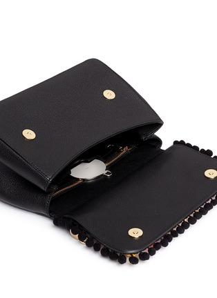 Detail View - Click To Enlarge - Dolce & Gabbana - 'Miss Sicily' medium mix cartwheel appliqué leather satchel