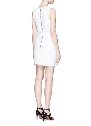 Back View - Click To Enlarge - Maticevski - 'Coded' tie waist sleeveless dress