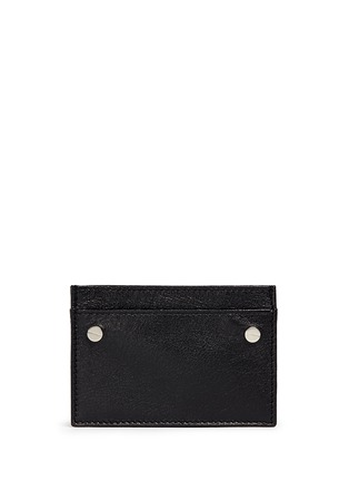 Main View - Click To Enlarge - Balenciaga - 'Arena' leather cardholder