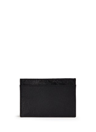 Figure View - Click To Enlarge - Balenciaga - 'Arena' leather cardholder
