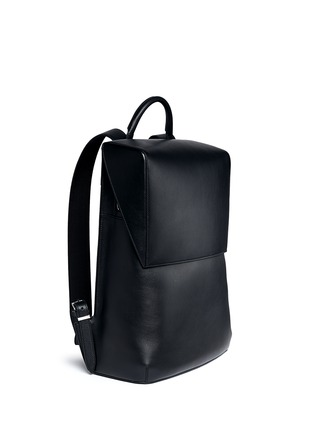 Front View - Click To Enlarge - Balenciaga - 'Phileas' leather backpack