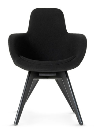 Main View - Click To Enlarge - Tom Dixon - Scoop high back chair