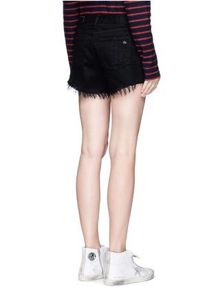 Back View - Click To Enlarge - RAG & BONE/JEAN - 'Cut Off' stud denim shorts