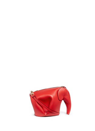 Main View - Click To Enlarge - LOEWE - 'Elephant' mini leather shoulder bag