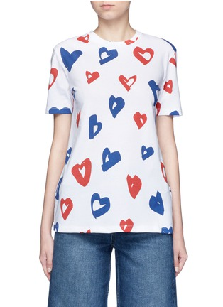 Main View - Click To Enlarge - Etre Cecile  - 'Heart' print jersey T-shirt