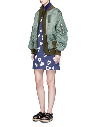 Figure View - Click To Enlarge - Etre Cecile  - 'Heart' print jersey T-shirt dress