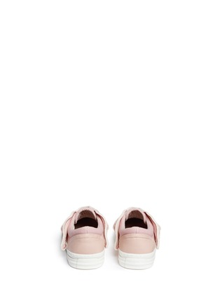 Back View - Click To Enlarge - Stella Mccartney Kids - 'Juniper' butterfly wing facing kids sneakers