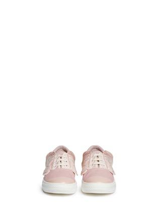 Figure View - Click To Enlarge - Stella Mccartney Kids - 'Juniper' butterfly wing facing kids sneakers