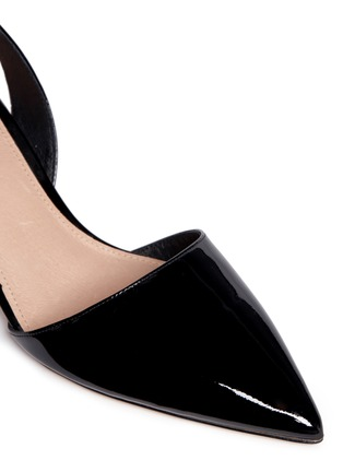 Detail View - Click To Enlarge - Michael Kors - 'Claudia' slingback patent leather pumps