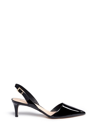 Main View - Click To Enlarge - Michael Kors - 'Claudia' slingback patent leather pumps