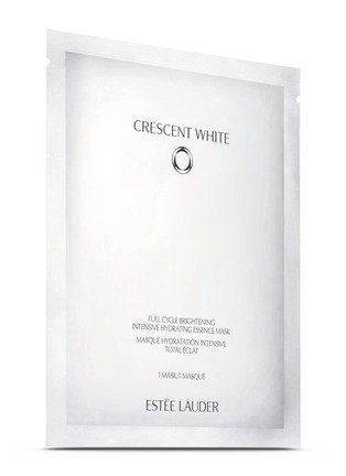 Main View - Click To Enlarge - Estēe Lauder - Crescent White Full Cycle Brightening Intensive Hydrating Essence Mask 6-piece set